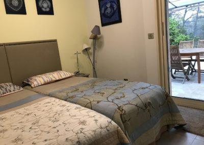 Chambre Calanques 2 lits x 80 x 200